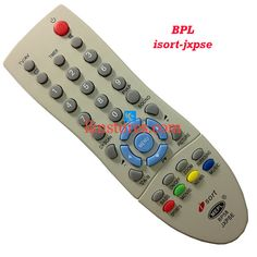 Buy remote suitable for BPL Tv Model: ISORT JXPSE at lowest price at LKNstores.com. Online's Prestigious buyers store.