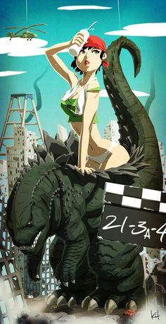 The truth behind Godzilla by kit-kit-kit