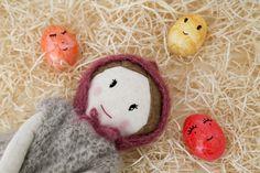 Handmade dolls. Sirimiri doll. Easter. http://sirimiridolls.com