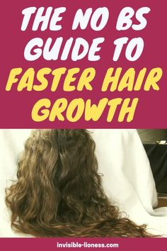 Need some hair growth tips to make your hair grow faster? This guide will tell you exactly what to do to grow long hair as quickly as possible! Vitamins For Hair Growth, Hair Vitamins, Healthy Hair Growth, Hair Growth Tips, Hair Care Tips, Make Hair Grow Faster, Grow Long Hair, Grow Hair, Guide To Fasting