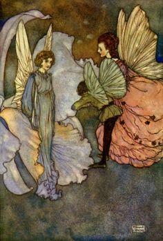 Princess Orchid's Party - Edmund Dulac