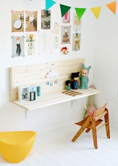 wall desk #kids #desk