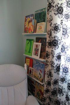 book shelves by rocker