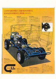 Risultati immagini per land cruiser brochures Toyota 4x4, Toyota Surf, Toyota Trucks, Toyota Hilux, Toyota Land Cruiser, Fj Cruiser, Vintage Trucks, Old Trucks, Pickup Trucks