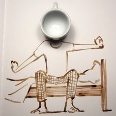 'yaaaawn' by Christoph Riemann and now .... COFFEE!