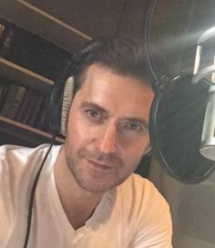 Richard Armitage in Berlin recording a short story that is available? on Audible.com.