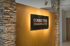 Atlanta Chiropractic Office Logo Wall Sign