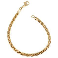 Bracelet femme, plaqué or #LeManegeABijoux
