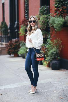 Necktie blouse from L'Academie Blouse: http://rstyle.me/n/b2esb9bkj7f Jeans: http://rstyle.me/n/b2esgzbkj7f Shoes: http://rstyle.me/n/bhms36bkj7f Sunglasses: http://rstyle.me/n/b2esjibkj7f Bag: http://rstyle.me/n/b2esmhbkj7f