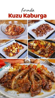 Baked Lamb Ribs (with video) – Yummy Recipes - Fleisch Yummy Recipes, Great Recipes, Yummy Food, Lamb Recipes, Fish And Meat, Fish And Seafood, Turkish Recipes, Italian Recipes, Lamb Ribs