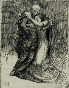THE LAUGHING HERESIIARCH Elle consacre l'amour (Elle series, 1900) ~ Albert Besnard