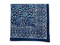 Bali Batik Blue and White Textile from Emily Henderson on OpenSky