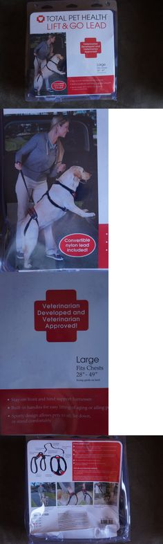 Harnesses 66783: Total Pet Health Lift And Go Lead Dog Harness Large Red -> BUY IT NOW ONLY: $42.97 on eBay!