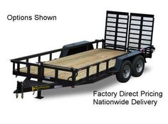 Used Landscape Trailer For Sale Landscape Trailers, Used Trucks For Sale, Equipment Trailers, Tools And Toys, Trailer Build, Moving Furniture, Rv Accessories, Utility Trailer, Outdoor Tools