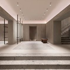 Bernard Dubois · Zadig & Voltaire flagship in Paris Design Entrée, Meme Design, Lobby Design, Store Design, House Design, Lobby Lounge, Hotel Lobby, Modernisme, Interior Design Offices