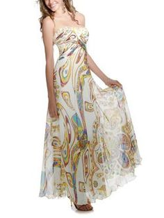 64408f0be02b As Picture Beach Strapless Printed Maxi Dress Designer Kjoler