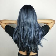 Hare Studio a New York N - Italiano Newest Hair Design Hair Dye Colors, Cool Hair Color, 70s Hair, Frontal Hairstyles, Aesthetic Hair, Dye My Hair, Gorgeous Hair, Hair Looks, Pretty Hairstyles