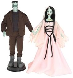 Barbie and Ken as The Munsters - Doll Gift Set – Posh Goth