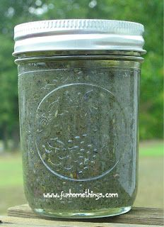 DIY Lavender Mint Foot Scrub