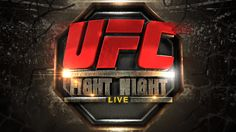 UFC Fight Night Live by Denian Lopes, via Behance. Sports and combat sports graphics and motion design - branding
