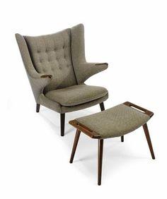 Hans J Wenger... reading chair for bedroom.
