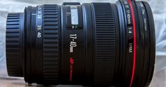 Canon EF 17-40mm f/4L USM lens Photography Gear, Canon Ef, Zoom Lens, North Africa, Aperture, Wide Angle, Nikon, Barrel, Camera Gear