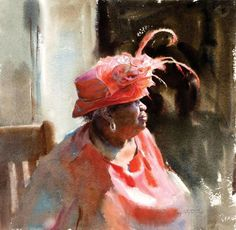Can't get enough of Mary Whyte's watercolors! Featured at ArtistsNetwork.com…
