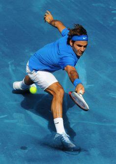 Roger Federer - Blue Clay King