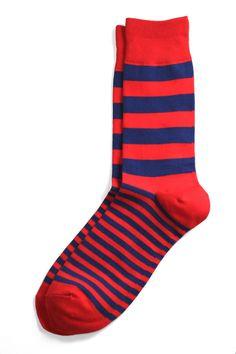 Richer Poorer - Walk On Red & Blue Socks