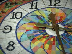 mosaic clock | Flickr - Photo Sharing!