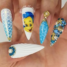 Phenix Salons Tri State : What are your weekend plans? Us: Disney Plus Disney plus: Your nail tech: Ariel: Snow White: Cinderella: Belle: Disney Acrylic Nails, Summer Acrylic Nails, Best Acrylic Nails, Acrylic Nail Designs, Summer Nails, Dope Nails, Swag Nails, 3d Nails, Disney Inspired Nails