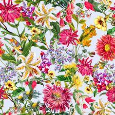 Botanical Garden - 2K1626 Seamless #floral #pattern #newonpatternbank #fashion #tropical #botanical  #floral #trends