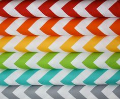 Half Moon Modern Chevron fabric bundle by Moda