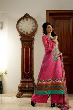 Beautiful Lawn Dresses Collection 2014 For Women (3)