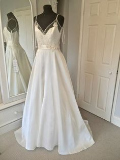 75ac6308c595 David Fielden Couture Wedding Dress