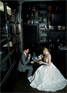 Wedding Chicks (#Starbucks shoot!)