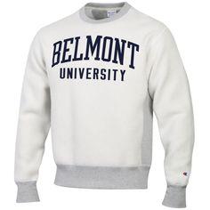 b114077f49f9 CHAMPION INSIDE OUT REVERSE WEAVE CREW Belmont University, Crew  Sweatshirts, Fan Gear, Champion
