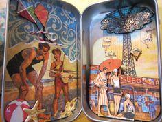 Paper craft in an altoid tin