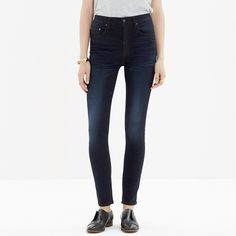 High waist skinnies - Madewell