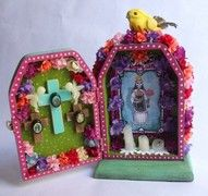 dia de los muertos altar box mexican holiday dia de los muertos craft ideas