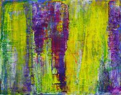 "Saatchi Online Artist: Aida Markiw; Acrylic, 2012, Painting ""Blooming Wisteria"""