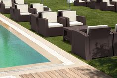 Monaco Lounge Table is made of durable weather-resistant resin. Non-metallic frame will never unravel, rust or decay. It is UV protected which insures the colors will not fade. Can be disassembled. For indoor and outdoor use.