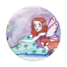 Fairy and a Fox Paper Plate Head Start, Paper Plates, Party Hats, Funny Cute, Birthday Parties, Art Pieces, Fox, Kids Shop, Fairy