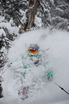 Skiing Deep Powder - Utah                                                                                                                                                      More