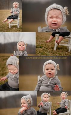 omg! The hat!! to.die.for! especially her mini-meltdown mode pic. super adorable!
