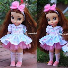 Doll dress for Disney animator dolls. Disney by FairyTaleLOVEit