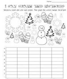 winter graph worksheet