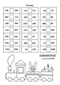 Pracovné listy z matematiky - prváci - Nasedeticky.sk Word Search, Words, Horse