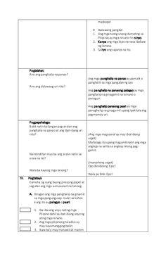 Masusing Banghay Aralin sa Filipino (Detailed lesson plan in Filipino… Grade 1 Lesson Plan, Math Lesson Plans, Math Lessons, The Plan, How To Plan, Lesson Plan In Filipino, Science Trivia, Lesson Plan Examples, Lp