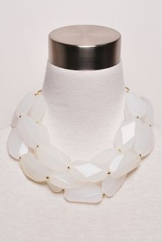 Clear As Day Necklace